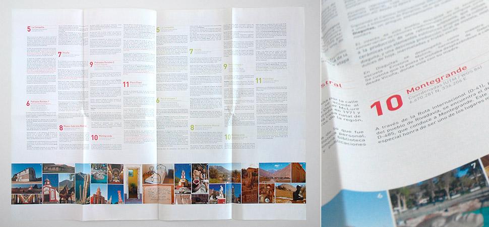Catálogo turístico