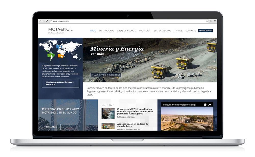Sitio Web Mota-Engil