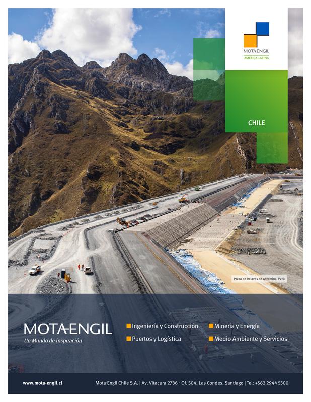 Aviso publicado en Revista Nueva Minería y Energía